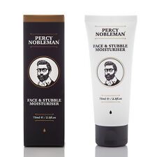 Face & Stubble Moisturiser Percy Nobleman (75ml) - Men's Moisturiser
