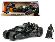 2008 THE DARK KNIGHT TUMBLER BATMOBILE W/ DIECAST BATMAN FIGURE 1/24 JADA 98261