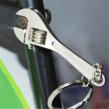 Changeable Spanner Keychain Wrench Key Ring Chain Creative Keyfob Metal Tools