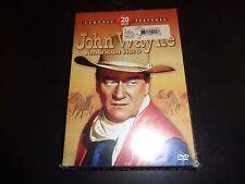 JOHN WAYNE 20 Movie Pack 4 DISCOS DVD 2005 4 Set Nuevo y Sellado DE FÁBRICA