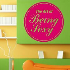 Wall Vinyl Room Sticker Decals Mural Art Of Being Sexy Hair Nail Salon L152