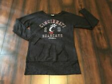 Camp David Brand Women's M Cincinnati Bearcats Sweater Pullover L/S Black