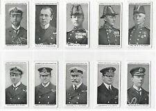More details for lambert and butler naval portraits a series of 50 complete set of cigarette card