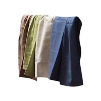 Pure Zone Tea Towel 6-Pack Bamboo Cotton Kitchen Dish Drying Absorbent Towels