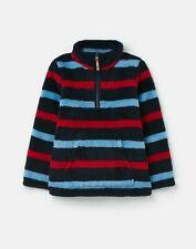 Joules  211251 Half Zip Fleece - Navy Stripe