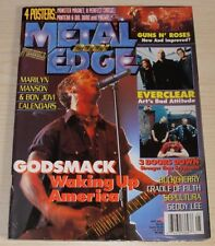 METAL EDGE MAY 2001 GODSMACK PANTERA DIO DORO YNGWIE A PERFECT CIRCLE BUCKCHERRY