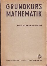 Mathematik DDR Bücher & Zeitschriften