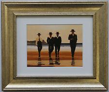 I ragazzi BILLY da Jack Vettriano incorniciato & montato Art Print PICTURE GOLD