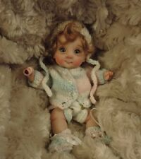 """XENA"" mini 7"" polymer clay art baby  doll sculpt OOAK by URSULA"