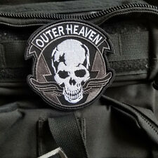 Outer Heaven Logo Metal Gear Solid 5: The Phantom Pain Hook Patch Acu Gray Badge