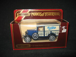 """MATCHBOX MODELS OF YESTERYEAR Y-21 1930 MODEL """"A"""" FORD"""