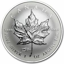 Canada 2014 Berlin World Money Fair WMF Privy Mark Pure Silver Maple Leaf SML