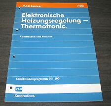 SSP 100 VW Passat B3 35i Elektronisch Heizung Regelung Thermotronic Stand 05/88
