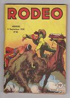 RODEO n°85 - 5 septembre 1958. Bel état. Miki le Ranger.