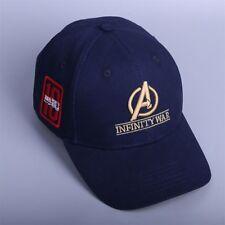 Avengers Cap Infinity War Crew Hat Equip Embroidered Cap Infinity Gauntlet Cap