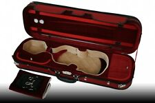 Petz 4/4 Custodia Violino Fodero per rosso/rosso/beige