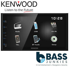 "Kenwood DMX-110BT 6.8"" Double Din Bluetooth Mechless USB iPhone Media Car Stereo"