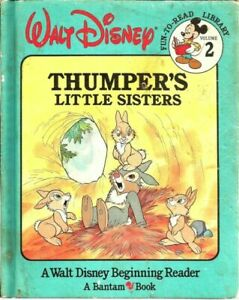 Thumper's Little Sisters (Walt Disney Fun-To-Read Library, Volume. 2)