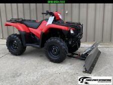 HONDA TRX500FA5H FOURTRAX FOREMAN RUBICON AUTOMATIC IRS 4X4 ATV SNOWPLOW PKG