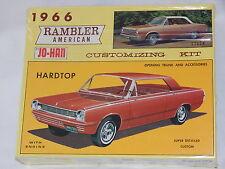 Vintage Johan 1966 AMC Rambler American 2 Door Hardtop Model Kit