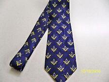 Mason, Masonic, Freemasonry, Fraternal, square  compass quality mens necktie #40