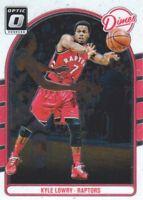 2016-17 Donruss Optic Dimes #9 Kyle Lowry Toronto Raptors