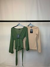 Women's Clothes Bundle 2 PrettyLittleThing Tops Still With Tags Size 4