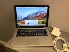 """Apple Silver MacBook Pro13"""" 2010/New 500GB HDD 4GB Ram/OS HIGH SIERRA/Office2016"""