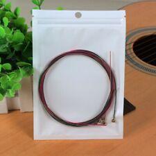 6 String Acoustic Bass Guitar Strings Light Gauge Bronze Steel Multicolor BM0015