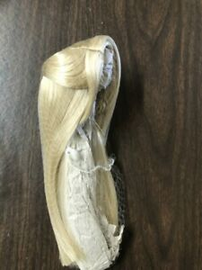 Blonde Long Straight Wig No Bangs  by Madame Alexander new