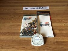 New listing Dissidia Final Fantasy (Sony Psp 2009) Complete with Manual Tested Free Shipping