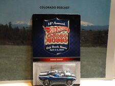 Hot Wheels 14th Annual Nationals Blue Rodger Dodger No Dinner Sticker