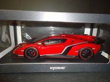 Kyosho Lamborghini Veneno coupé rouge 09501 1/18