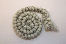 All Cooped Up Gray Curly Crepe Wool Theatrical Hair