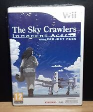 THE SKY CRAWLERS INNOCENT ACES - Nintendo Wii - NUOVO NEW OLD STOCK SEALED