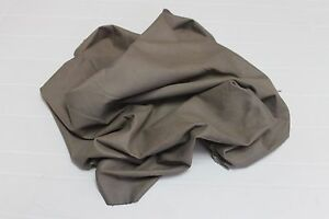 Italian soft Lambskin leather hide hides skin ECONOMIC NATURAL KHAKI 9sqf #A2484