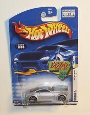 Hot Wheels  2002 First Editions Nissan Z silver 26/42  PR5 wheels