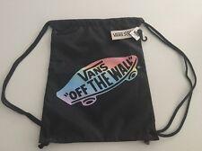 New Vans Skater Gym School Travel Pack Cinch Sack Backpack Bag Back to School