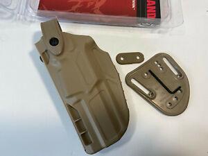 Safariland 7287 7TS SLS Belt Slide Concealment Beretta 92FS Holster - left