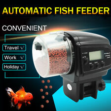 Aquarium Tank Pond Feeding Timer Digital LCD Auto Automatic Fish Food Feeder