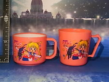 It left the warehouse at that time Sailor Moon R plastic cup 2P Maid in Japan