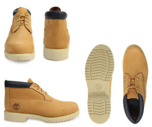 Timberland Men's Chukka Work BOOTS SHOES Wheat YELLOW 50061 ALL SIZE WIDE MEDIUM