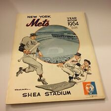 New York Mets 1964 Yearbook Excellent Condition Rare Baseball Find