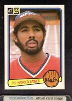 1983 Donruss #143 Harold Baines Chicago White Sox HOF Baseball Card NM+