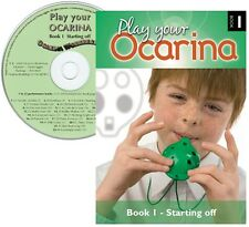 Play your OCARINA : BOOK 1 'Starting off' with CD and FREE DELIVERY