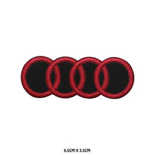 AUDI Car Brand Racing Embroidered Patch Iron on Sew On Badge