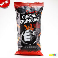 NEW Trader Joe's Spicy Cheese Crunchies Corn Snack 6.5oz - FREE SHIPPING !!