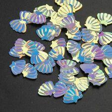 USA Sea Shells Beach Glitter Spangles 3D Nail Art Solvent Resistant Acrylic Gel