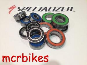 Specialized E150 25mm Bearings Front Wheel Hub kit Steel /Stainless /Ceramic 2RS