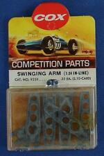 Cox 1:24 Scale Competition Slot Car Racing Chassis Inline Swinging Arms #9239